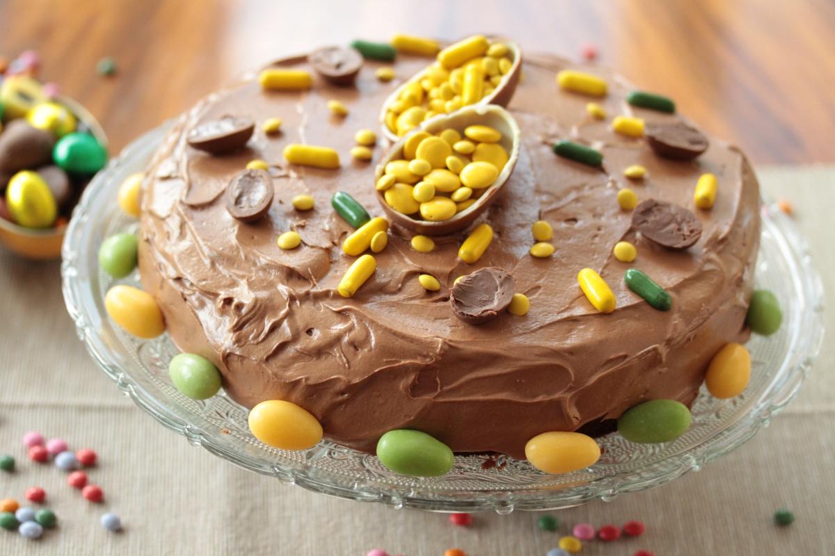 Saftig sjokoladekake med appelsin